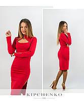 Красное платье 15446