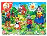 Красная шапочка, вкладыши, Мир деревянных игрушек (Р104)