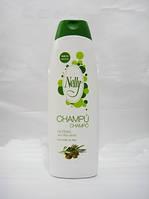 Шампунь для ежедневного применнения с оливковым маслом NELLY  Испания 750мл.