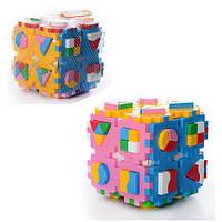 Куб Умный малыш Супер логика . ТехноК 2650
