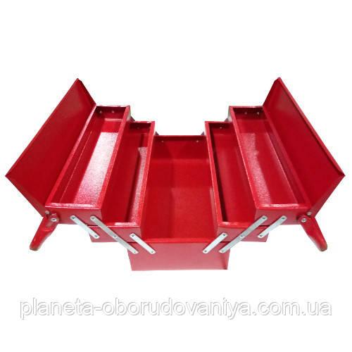 Ящик инструментальный 530мм 5 отсеков   (Харьков)  ЯЩ530-5