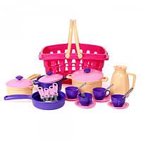 """Детский игрушечный """"Набор посуды 37х26.5х16.5 см ТехноК"""", арт.4449"""