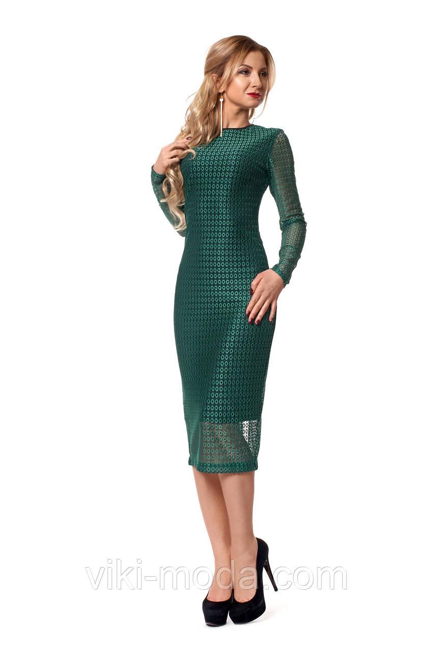Платье женское приталенное