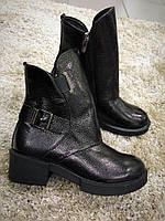 Ботинки женские с ремешками