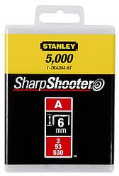 Скобы  8мм (1000шт.)      STANLEY 1-TRA205T
