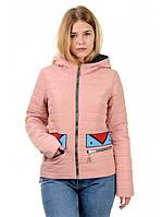Женская  демисезонная куртка на молнии