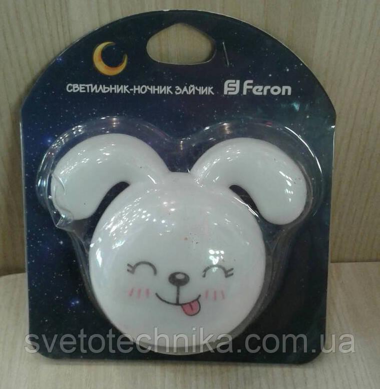Светодиодный ночной  светильник  Feron FN1167 (Зайчик)