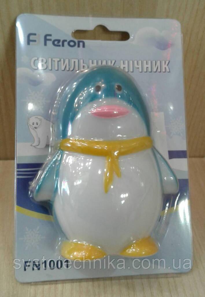 Мини светильник Feron F1001 (Пингвин)