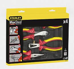 """Набор шарнирно-губцевого инструмента 4 ед. """"MAXSTEEL"""" до 1000В (пассатижи, длинногубцы, бокорезы, щи"""