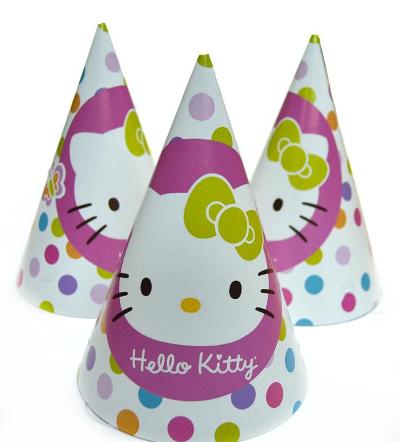 Колпак карнавальный Bonita Hello Kitty 15 см