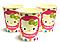 Стаканы Bonita бумажные с рисунком Hello Kitty 200 мл 10 шт