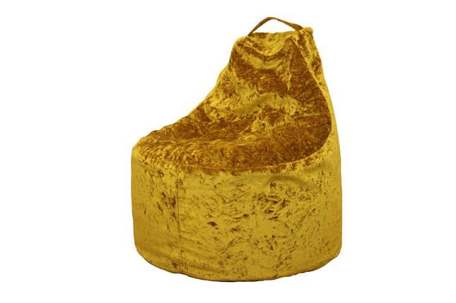 Кресло-мешок Дюшес Яшма золотая (Катунь ТМ) , фото 2