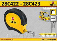 Лента измерительная L-30м., W-13мм., стальная, TOPEX  28C423