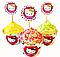 Набор для капкейков Bonita Hello Kitty 6 шт