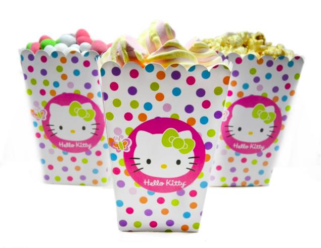 Набор для сладостей и попкорна Bonita Hello Kitty 5 шт