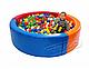 Сухой бассейн KIDIGO™ Круг 1,5 м MMSB1, фото 2