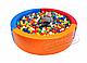 Сухой бассейн KIDIGO™ Круг 1,5 м MMSB1, фото 4