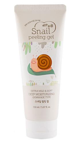 Пилинг-скатка с муцином улитки Esfolio snail peeling gel - 150мл