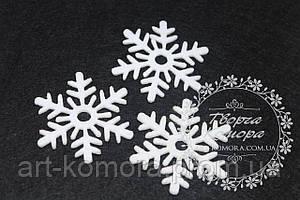 Фетровая снежинка