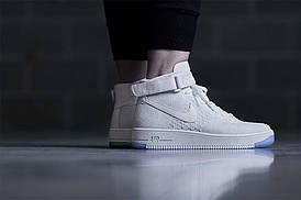 Мужские кроссовки Nike Air Force 1 Ultra Flyknit white