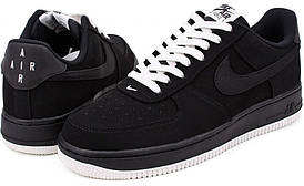 Мужские кроссовки Nike Air Force One 1 Low Black Sail