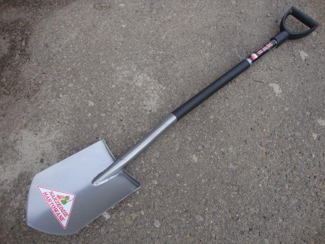 Лопата длинная BTD B097 закалённая сталь
