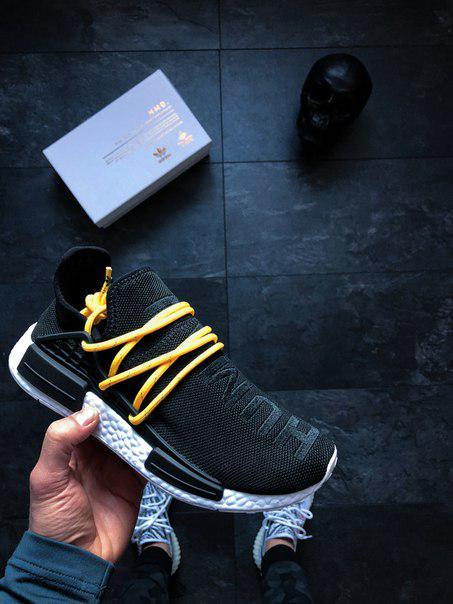 """Мужские кроссовки Adidas Human Race NMD x Pharrell Williams """"Pale Nude"""", Копия"""