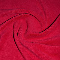 Велсофт махра махровая ткань красная