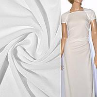 Трикотаж ткань трикотажная костюмный ткань креп молочный