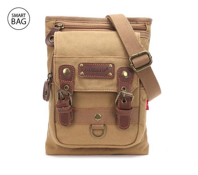 Небольшая мужская сумка Augur   бежевый