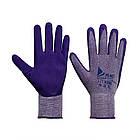 Рукавички господарські Qihang 1+1 фіолетові