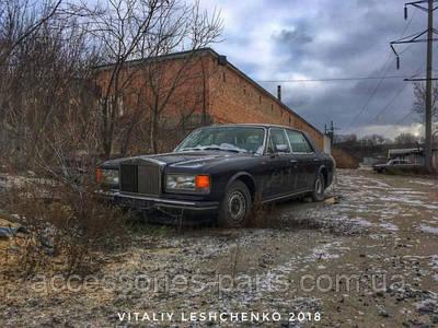 Не для слабонервных: фото гниющего Роллс-Ройса в Украине