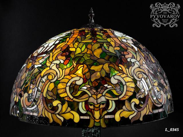 Лампа Тиффани для охотника