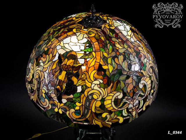 Охотничья лампа Тиффани