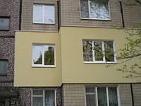 Утепление фасадов домов в Днепропетровске