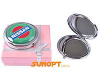 """Зеркальце в подарочной упаковке """"Nissan"""" №7006-6-4"""