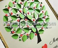 Дерево пожеланий на свадьбу