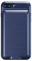 Чехол Baseus Ample Backpack Power Bank 3650mA/h IPhone 7+ Blue