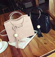 Каркасная удобная женская сумка с круглыми ручками. Отличное качество. Доступная цена. Дешево. Код: КГ3468