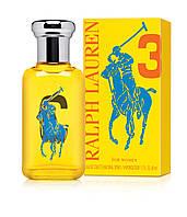 Ralph  Lauren Big Pony 3 for Women 100ml женская туалетная вода  (оригинал)