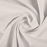 Французский Трикотаж ( трикотажная ткань ) , рубчик 3 см, белый ш.154, итальянская ткань ( из Италии )