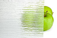 Стекло узорчатое листовое бесцветное Сильвит 1300х750х4мм