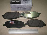 Колодки тормозные дисковые передние New Actyon (производство SsangYong) (арт. 48130341A0), AGHZX