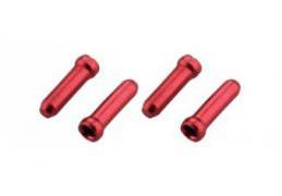 Концевик Jagwire для тросиков переключения и тормоза, красный