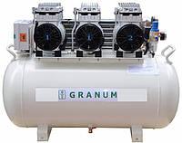 Компрессор Granum 200 (200л/мин) безмаслянный стоматологический