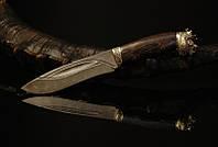 """Нож для охоты ручной работы подарок охотнику """"Царь зверей"""""""
