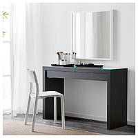Туалетный столик MALM черно-коричневый