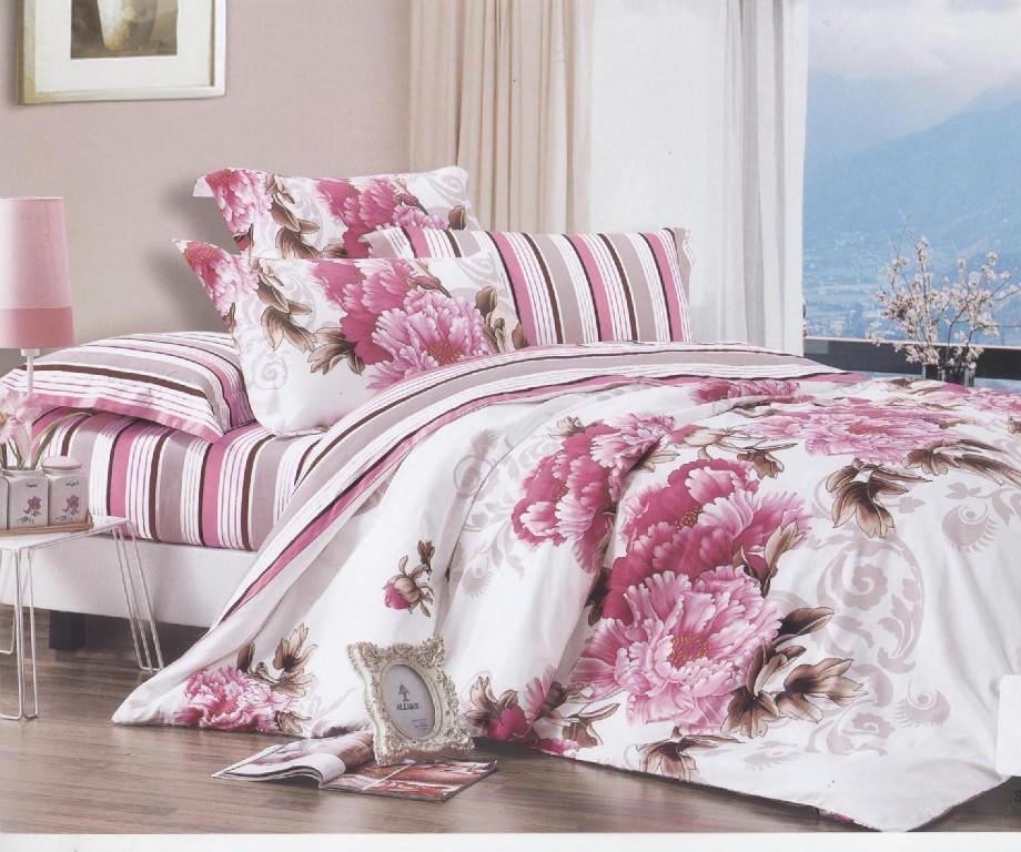 Полуторный комплект постельного белья в ассортименте из  бязи Голд