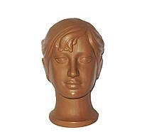 Манекен детская голова девочка без макияжа бежевый
