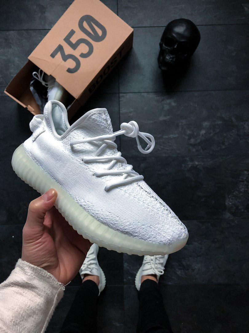 Чоловічі кросівки Off-White x adidas Yeezy Boost 350 V2, Копія
